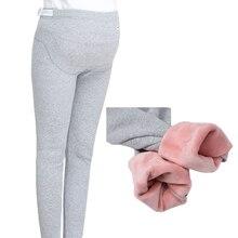 4XL зима плюс бархатные Беременные женщины Леггинсы River island бархатные Леггинсы для беременных теплые штаны; Леггинсы Одежда для беременных