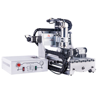 Cheap Price 3020 Mini CNC Milling Router 800W Water cooled Desktop Wood PCB Carving Machine with 4th Axis