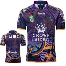 51e712dce5c liser 2019 NRL Melbourne Storms home away rugby jerseys size S-3XL