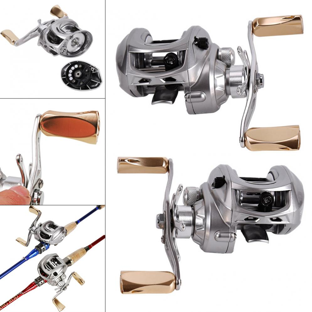 Full Metal Fishing Bait Casting Reel 280g 9+1BB 7:1 Braking Force 8kg / 17.6lb BaitCasting Wheel with Right Left Hand Optional abu garcia pmax3 right left hand bait casting fishing reel 7 1bb 7 1 1 207g 8kg max drag drum trolling baitcasting reel