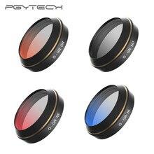 PGYTECH фильтры для объектива для DJI Mavic Pro постепенный цвет серый красный оранжевый синий Camrea фильтр дрона аксессуары Квадрокоптер запчасти