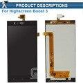 Original Pantalla LCD con Pantalla Táctil Digitalizador Asamblea Para Highscreen Boost 3 Boost3 Envío Gratis