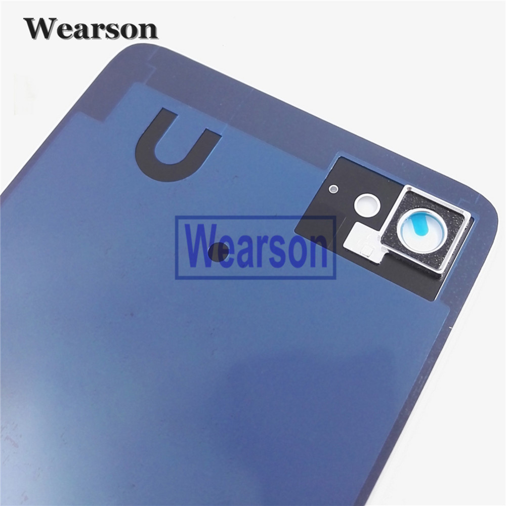 For Lenovo ZUK Z2 PLUS Back Cover Z2 PLUS Battery Cover Glass+Glue 100% Original New Free Shipping With Tracking Number (3)
