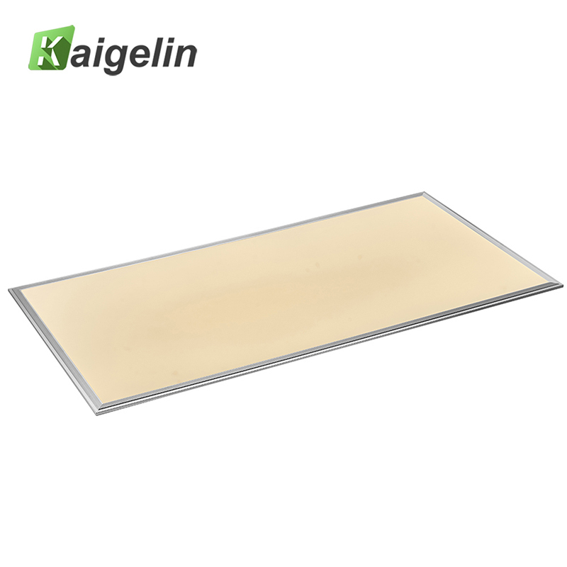 2 PCS Kaigelin Square LED Panel Light 1200x600 64W SMD2835 LED Ceiling Panel Light Office AC100-240V Industrial Ceiling Lamp