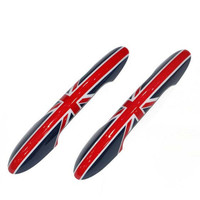2Pcs 1Set For BMW New Style F56 Car Door Handle Sticker And Decals High Quality