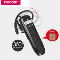 DACOM K2 Wireless Headset Bluetooth Earphone Business Earbuds IPX5 Waterproof Headphones Handsfree For IPhone Xiaomi Cell