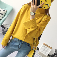 New Autumn And Winter Women S Women S Suit Sweater High Collar Loose Korean Version Of