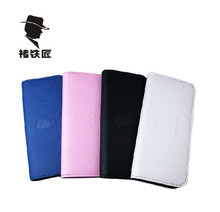 White Blue Pink Barber PU Bags Leather Professional Hairdressing Shear Scissor Pouch Double Scissors Packing Bag Storage Case