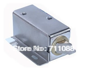 12V cabinet lock / electronic lock electric lock (12V bevel latch) file cabinet storage cabinet dedicated