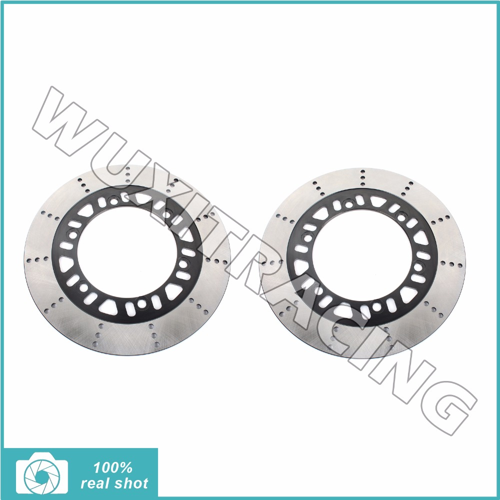 270mm New Front Brake Discs Rotors for KAWASAKI Z 400 1985-1987 ZX 400 600 750 F2 Ninja R RX GP GPZ 83 84 85 86 87 mf2300 f2
