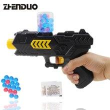 Zhenduo игрушки открытый бой съемки игрушечный пистолет 2-в-1 гель-шарик пистолет воды бомба