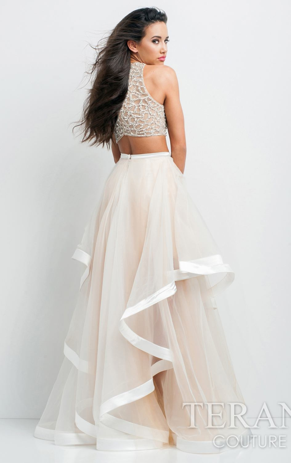 Top And Skirt Formal Dress - Dress Ala