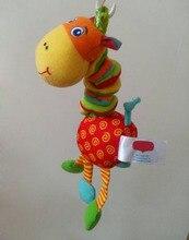 baby bed stroller hang bell rattles toys cribs hanging toys cot mobility plush giraffee musical bor soft mobile playpen pram