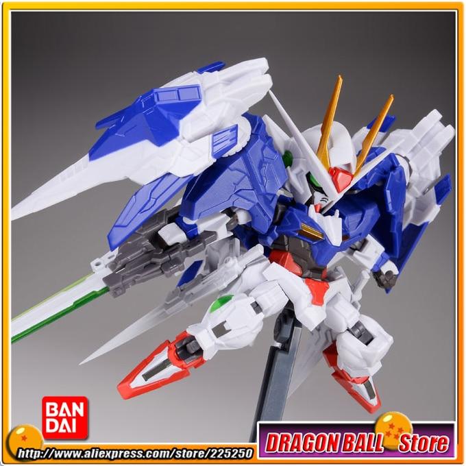 Mobile Suit Gundam 00 Original Bandai Tamashii Nations NXEDGE STYLE Action Figure - 00 Gundam & 0 Raiser Set mobile suit gundam the origin volume 1 activation