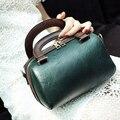 luxury designer messenger bags handbags women famous brands vintage tote bag mixed color boston bag pu leather bolsa feminina
