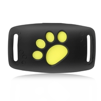A Pet Tracker GPS Dog / Cat Collar Water resistant USB Charging