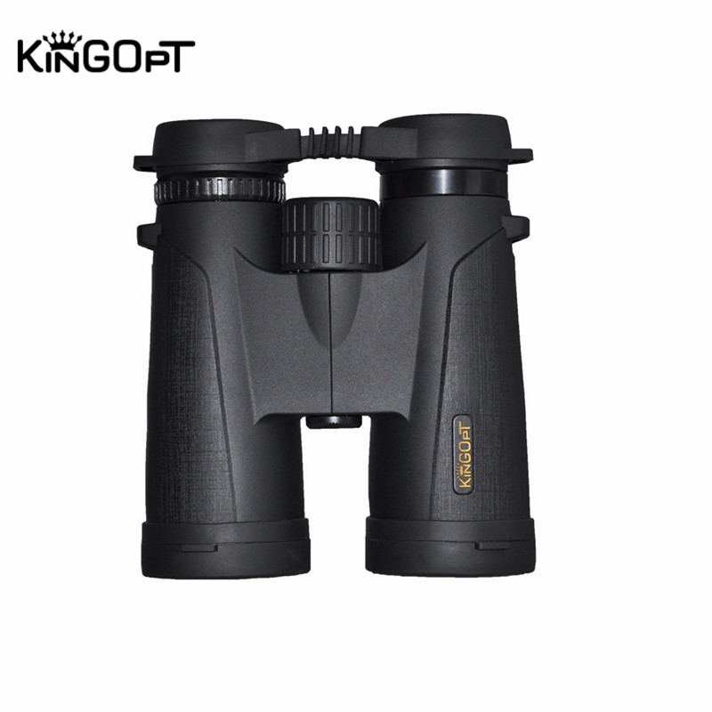 KINGOPT 8x42 New Waterproof Telescope with HD Double-sided Broadband Green Film Telescope Mirror Low Night Vision Device Hunting night film