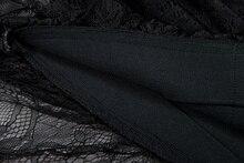 Gosexy Lace Mermadi Slash Neck Knee Length Short Sleeve Solid Summer Women Lady Bandage Dress Vestidos 2018 New Arrival