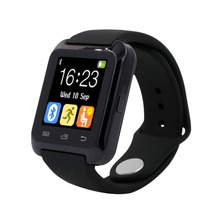 U80 Apoyo Reloj Inteligente Bluetooth Anti-Pérdida Smartwatch DZ09 Wearable Dispositivos Para xiaomi IOS Android PK GT08 U8 KW88