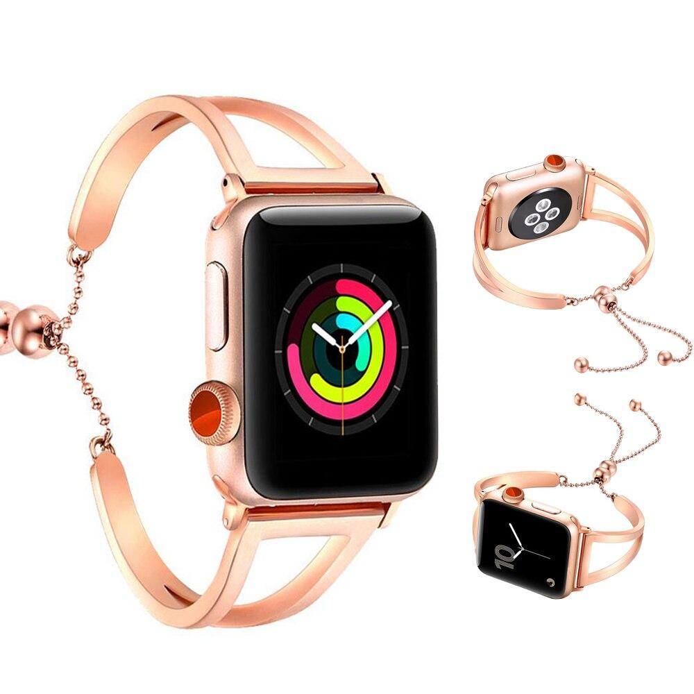 316L edelstahl uhr strap für Apple uhr band 42mm/38mm armband metall handgelenk gürtel armband für iwatch serie 3/2/1