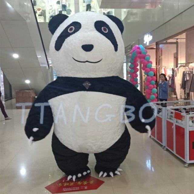 Adult bear costume panda have kept