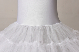 Image 5 - Elastic Fabric Big Fishtail Skirt Mermaid Trumpet Style Wedding Gown Petticoat Crinoline Slip