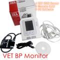 VET CONTEC08A Digital Blood Pressure Monitor, BP monitor Veterinary NIBP Calculator+ SPO2 meter Equipment CE sphygmomanometer