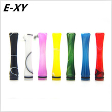 E-XY Newest 2017 long 45mm 7 Colors Acrylic 510 Drip Tips Fit for 510 Atomizer E Cigarette