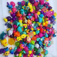 Hot Selling 100pcs/lot Mini Magic Small Animal Dolls Action Figure Model Toy for Children's Birthday Gift Toy