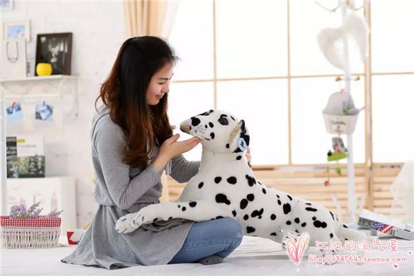 simulation Dalmatian dog plush toy large 70cm prone dalmatian dog  ,Christmas gift h742 simulation squatting dalmatian dog 20x12x25cm model polyethylene
