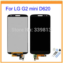 Black White Display For LG G2 mini D620 D618 LCD Display With Touch Screen Digitizer Assembly + Tools Free shipping