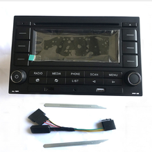 Автомагнитолы RCN210 CD-плеер USB MP3 AUX Bluetooth для гольфа Jetta MK4 Passat B5 поло 9N 31 г 035 185