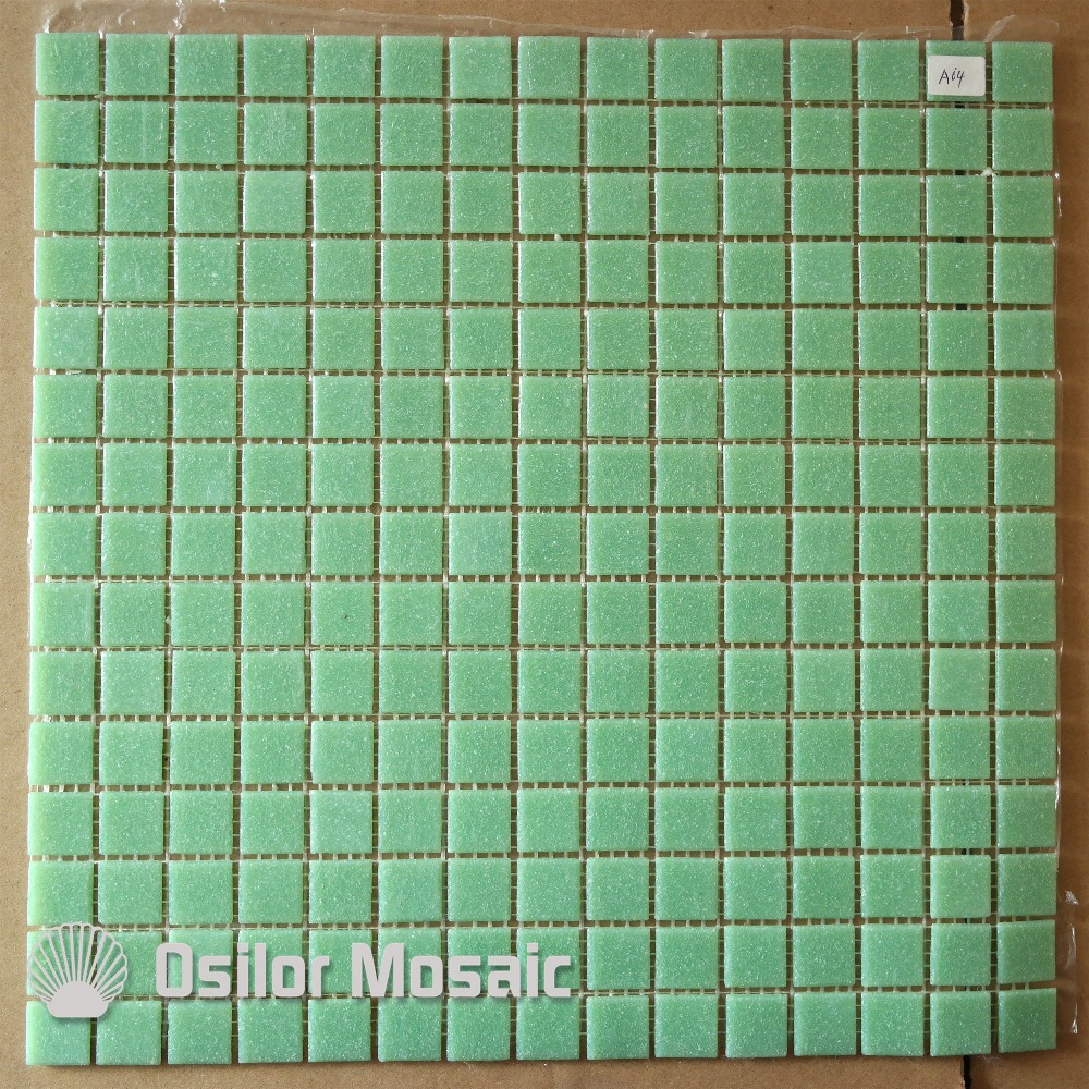 Mosaic floor tiles bathroom - Free Shipping Light Green Glass Mosaic Tile For Bathroom And Kitchen Decoration Outdoor Wall Tile Floor