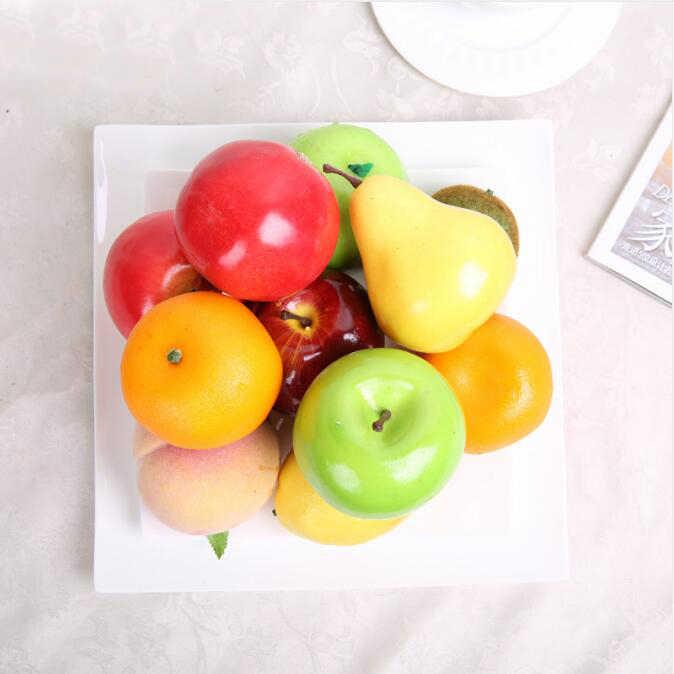 30 قطعة/الوحدة محاكاة الاصطناعي الفواكه و الخضروات رغوة الفواكه الأطفال الاطفال لعب للأطفال لعب التعليم 3.5-5 سنتيمتر