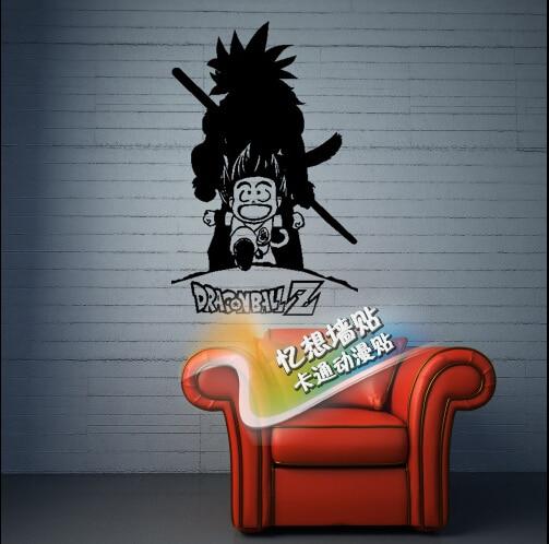 Boys Bedroom Wallstickers For Kids Dragon Ball Z Childhood Memory Goku Back  Sticker Sofa Home Decor. Aliexpress com   Buy Boys Bedroom Wallstickers For Kids Dragon