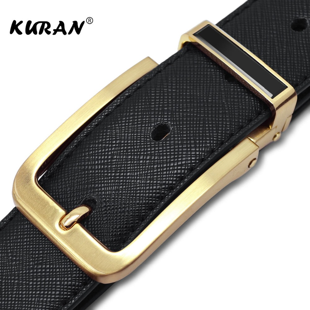 2018 New Designer Famous Brand Men Luxury Belts Men Belts Male Waist Strap Real Cowskin Leather and Pin Buckle Belt