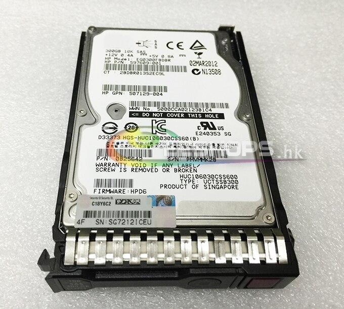 Original 300GB HDD 10K 6G 2.5 Inch SAS Hard Drive for HP ProLiant Servers DL60 DL80 DL110 DL160 DL180 ML350 DL370 XL450 Gen9 G9 300gb 10k rpm sas 2 5 inch hard drive u706k