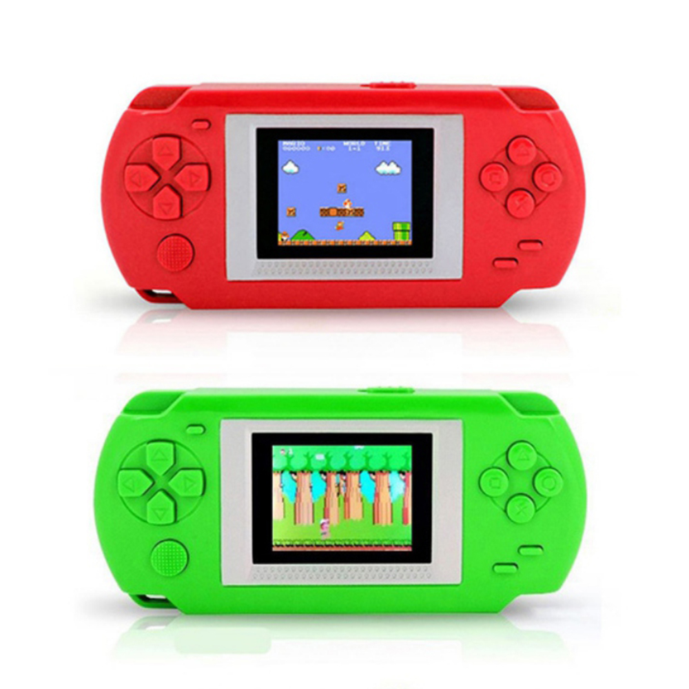 Game Console With 268 Different Games 2 Inch Screen Child 502 Color Screen Display Handheld Game Consoles Game Player Best Gift(China)