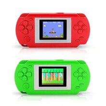 Игровая консоль с 268 различных игр 2 дюймов Экран ребенка 502 цветной экран портативных игровых консолей игровой плеер лучший подарок
