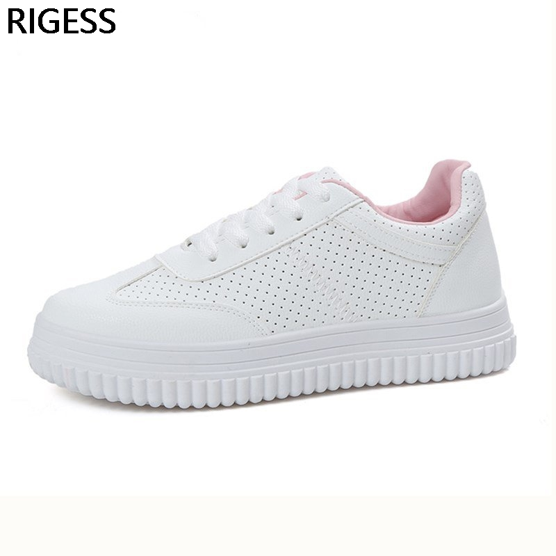 Summer Breathable air Women Shoes Casual Lace up White Shoes woman  Hollow Floral Breathable Flat Platform sapato tenis feminino summer women shoes casual cutouts lace canvas shoes hollow floral breathable platform flat shoe sapato feminino lace sandals