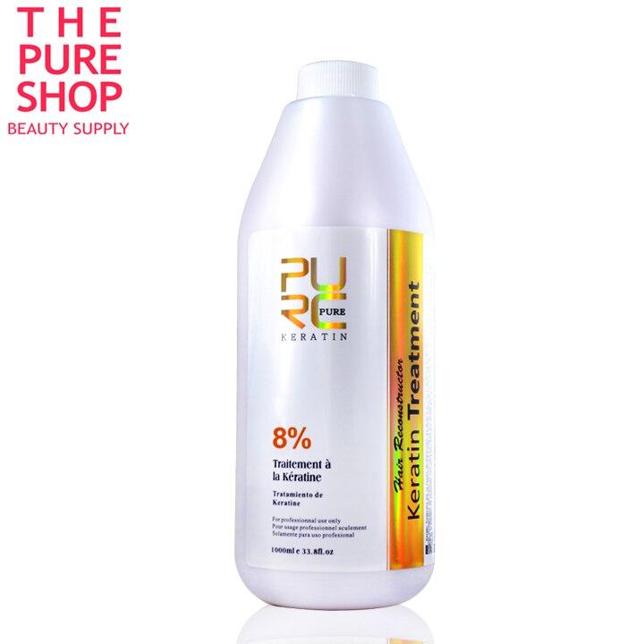 Brasiliano dei capelli della cheratina trattamento 8% cioccolato raddrizzatore dei capelli 1000 ml maschera per capelli e la cura dei capelli della cheratina trattamento