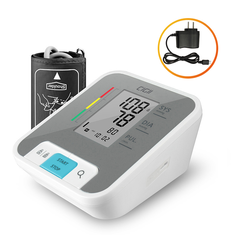 Cigii soins de santé À Domicile mesure Du Pouls outil Portable LCD numérique Bras Pression Artérielle Moniteur 1 Pcs Tonomètre