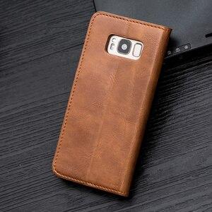 Image 4 - Musubo étui en cuir à rabat de luxe pour Samsung Galaxy S20 Ultra S20 Plus S10 S10 + S10E S9 S9 + housse boîtier fente pour carte Coque Capa