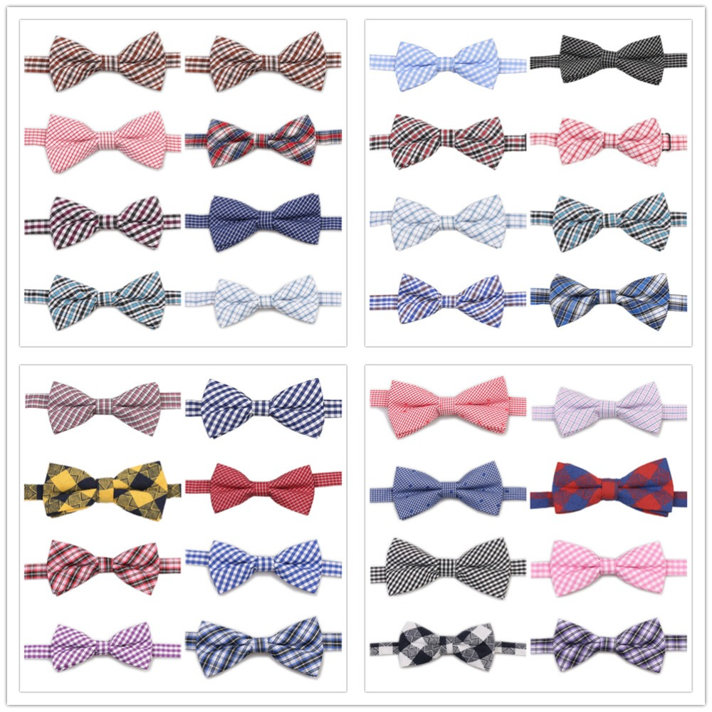 4d6930536b96 Detail Feedback Questions about HOOYI Kids Bow Ties Plaid Cotton Butterfly  Children Bowtie Party Gift Small size on Aliexpress.com   alibaba group
