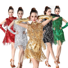 Latin Dance Dress Women/Girls/Lady Sexy Fringe Salsa/Ballroom/Tango/Cha Cha/Rumba/Samba latin flamengo dance competition dresses