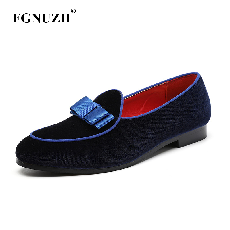 FGNUZH Men Dress Loafer Men Casual Shoes Formal Wedding Business Leather Shoe Men's Flats Driving Shoes Dropshipping ST375(China)