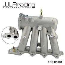 WLR Racing-для b18c1 алюминиевый 70 мм литой воздушный впускной коллектор для 94-01 Acura Integra Dc2 Dc4 WLR-IM43-CA