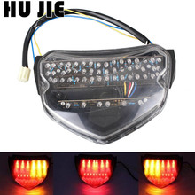 Motorcycle LED Tail Brake light Turn Signals Turning Lamp For Suzuki 2004 2005 GSXR600 GSXR750 GSXR 600 750 K4 04 05 Clear for suzuki gsxr 600 750 k4 headlamp headlight 2004 2005 04 05 gsxr600 gsxr750 front motorcycle head light lamp parts accessories