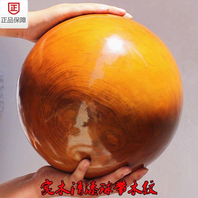 Boule de Tai Chi-boule de bois grande/avancée 20 KG boule de tai chi (nous avons de 3 KG à 30 kg de petit à grand)
