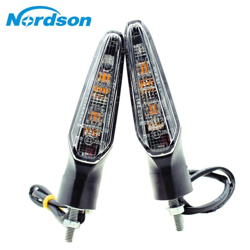 Nordson moto avant/arrière LED clignotant indicateur de lumière clignotant pour HONDA CRF1000L/Africa Twin 2015 2016 2017